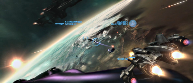 Halo Reach Space Combat